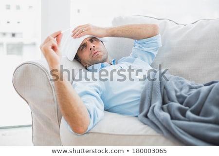 man sick of living Stock photo © photography33