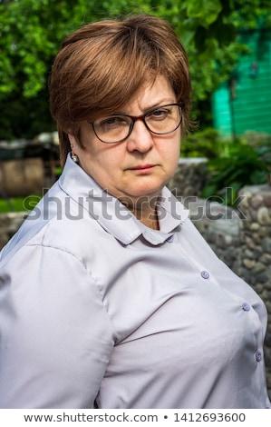 deprimido · triste · mulher · branco · cara · juventude - foto stock © dacasdo