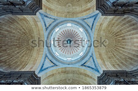 Ceiling of national pantheon Stock photo © dinozzaver