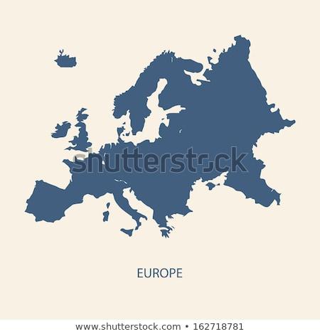 İsveç · bayraklar · boyalı · kırık · beton - stok fotoğraf © ustofre9