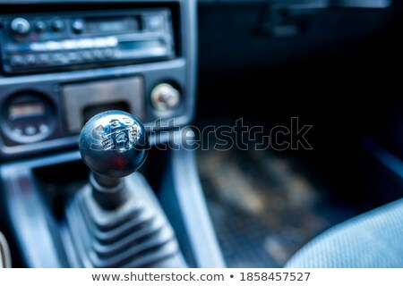 Old transmitter car Stock photo © hraska