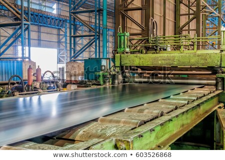 machine for rolling steel sheet  Stock photo © mady70