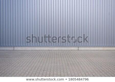 Aluminium wall stock photo © ABBPhoto