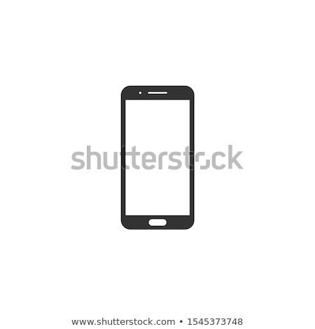 4g okostelefon illusztráció terv földgömb telefon Stock fotó © alexmillos