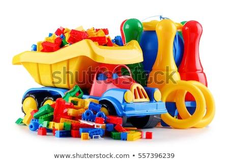 Plastic toy isolated Stock photo © michaklootwijk