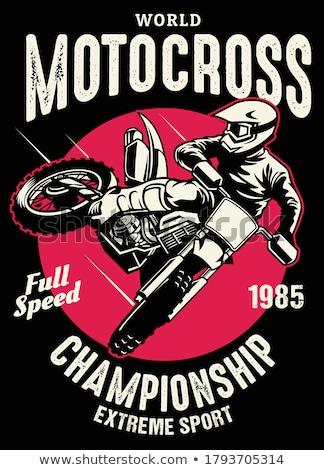 Motocross Stock photo © derocz