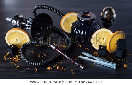 orange sheesha stock photo © aeyzrio