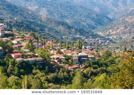 Church of holy cross in Pedoulas village. Cyprus Stock photo © Kirill_M