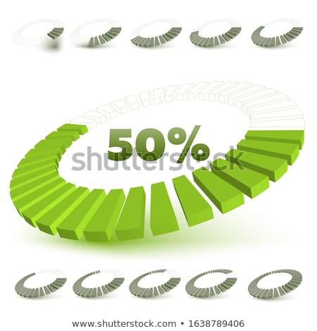 vektör · ayarlamak · soyut · 3D · kâğıt - stok fotoğraf © vipervxw