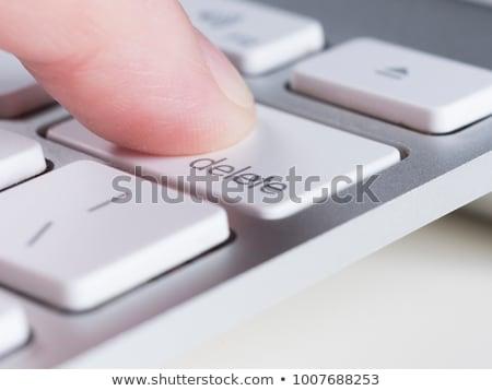 Delete button Stock photo © smoki