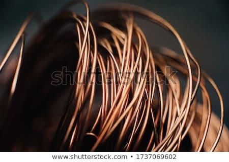 Fil laine isolé blanche métal matériel Photo stock © Freila