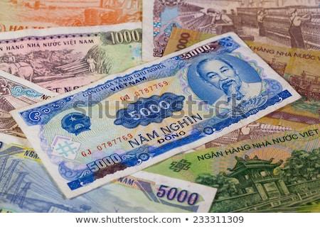 Diferente Vietnã notas numerário Ásia financeiro Foto stock © CaptureLight