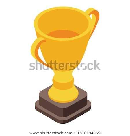 Certified golden Vector Icon Design Stock photo © rizwanali3d