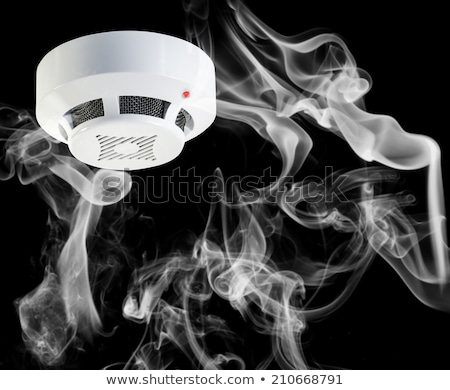 Smoke Around Fire Sensor Stock photo © AndreyPopov