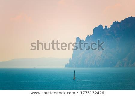 montagne · image · paysage · nuages · nature - photo stock © artfotoss