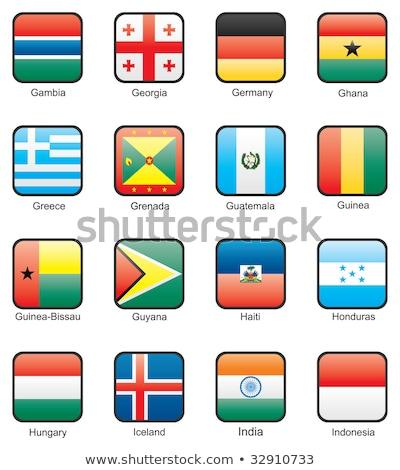 Alemanha bandeiras quebra-cabeça isolado branco negócio Foto stock © Istanbul2009