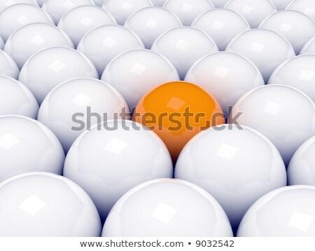 Photo stock: Succès · affaires · 3D · sphère · un · message · infographie