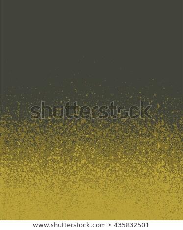 Graffiti spray verniciato strigliare giallo verde Foto d'archivio © Melvin07