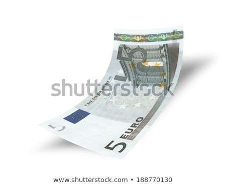 Close-up of a 5 euro bank note Stock photo © michaklootwijk