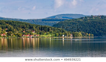 Panorama Of Orfu Lake In South Hungary Stock photo © Digoarpi