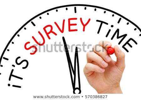 It Is Survey Time Concept Stock photo © ivelin