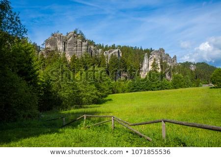Teplice-Adrspach Rocks, Czech Republic Stock photo © phbcz