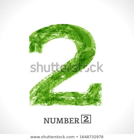 Abstrato artístico verde eco texto branco Foto stock © pathakdesigner