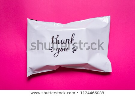 Color markers in plastic bag Stock photo © bluering