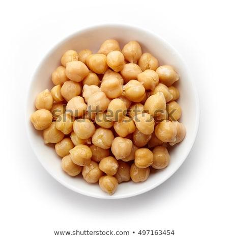 bowl of chickpea Stock photo © M-studio