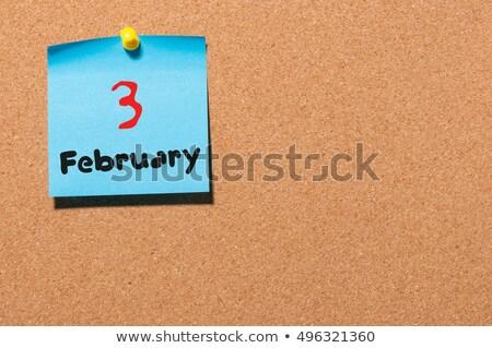 3rd February Stock photo © Oakozhan