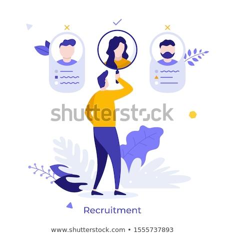 állás · keres · karrier · választás · foglalkoztatás · emberi - stock fotó © tashatuvango
