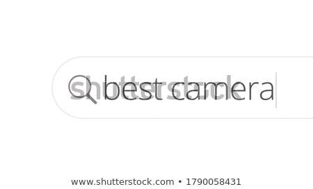 Zawodowych Fotografia obiektyw kolorowy Zdjęcia stock © tashatuvango