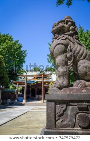gyám · szobor · templom · palota · egy · turizmus - stock fotó © daboost