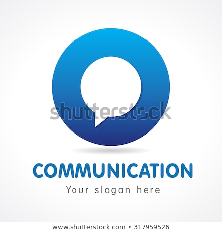 computer and chat bubble icon. vector illustration isolated on modern background. stock photo © kyryloff
