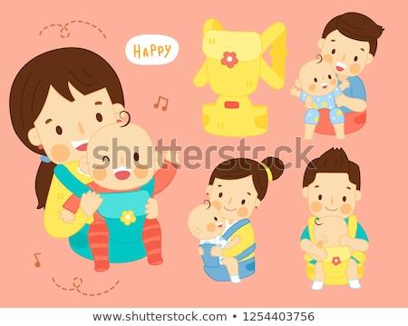 ребенка · играет · история · книга · сидят · счастливым - Сток-фото © blasbike