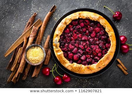 gebakken · vla · heerlijk · ei · nootmuskaat · gezonde - stockfoto © alex9500