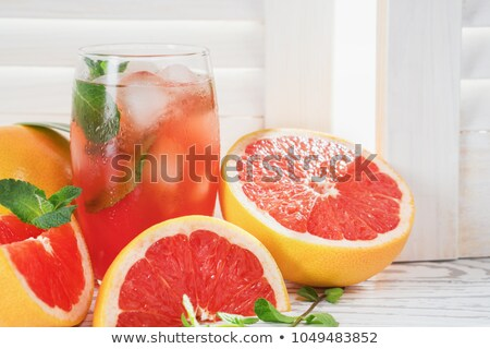 grapefruit and juice Stock photo © tycoon