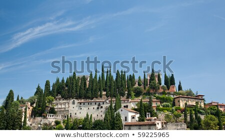 Roman Fort above Verona Stock photo © backyardproductions