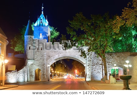 Dauphine gate Quebec City Stock photo © Lopolo