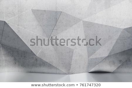 Beton muur geometrisch patroon achtergrond textuur kruis Stockfoto © boggy