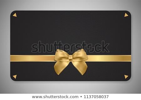 紙 カード 黒 ビジネス 高級 ストックフォト © Anneleven