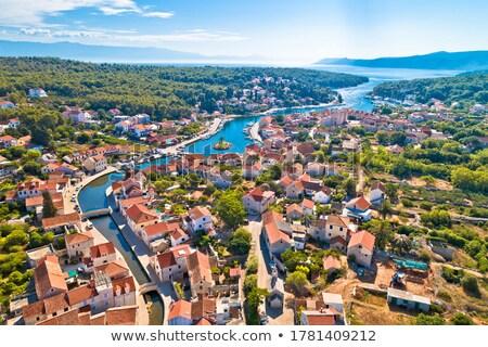 Cidade velha ilha cidade natureza paisagem Foto stock © xbrchx