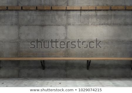 Sport changing room with locker background Stock photo © bluering