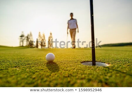 Golfer in buggy. Stock photo © photography33