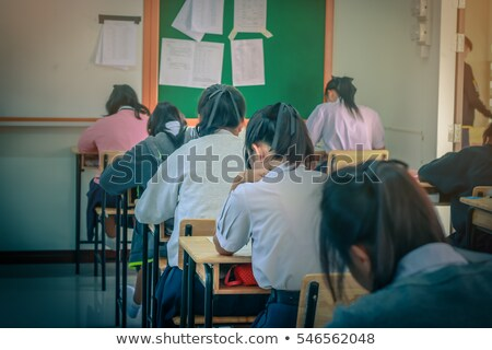 students attending course Stock photo © photography33
