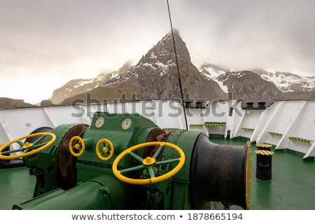 Winch on passenger ships. Stock photo © chatchai