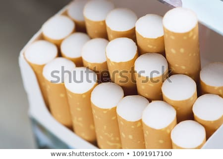 Packet of cigarettes Stock photo © ozaiachin