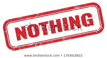 Nothing Stock photo © Stocksnapper