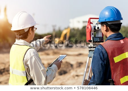 A land surveyor using an altometer Stock photo © photography33