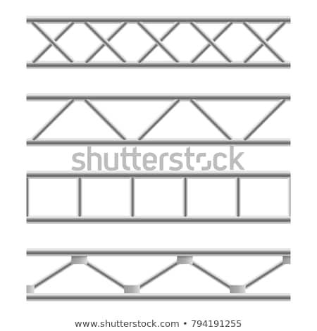 steel girders industrial structure illustration Stock photo © sirylok